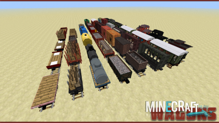 Minecraft 1.5.2 � Traincraft (������ / ������)
