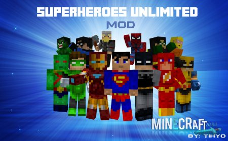 Superheroes Unlimited Mod V.3.3 ��� 1.6.4
