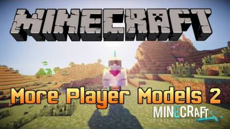More Player Models 2 Mod 1.8/1.7.10