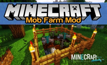 "MOB FARM MOD 1.11/1.10.2 – PLANT AND HARVEST ""MOBS"" IN MINECRAFT"