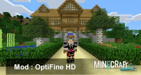 OPTIFINE HD МОД ДЛЯ MINECRAFT [1.11.2]